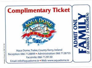 Aqua Dome family ticket