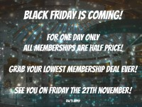Black Friday Membership Sale